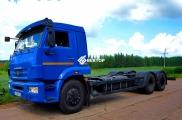 Шасси КамАЗ 65117-3010-48(A5)
