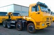 Шасси КамАЗ 6540-3928-48(A5)