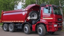 Самосвал КамАЗ 65801-203001-68(T5)