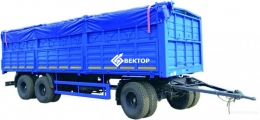 Прицеп бортовой-зерновоз НЕФАЗ 8332-0140130-04
