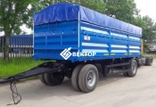 Прицеп бортовой-зерновоз НЕФАЗ 8332СХ-0040100-01